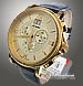 ADRIATICA 8135 NOSTALGIA All Steel Chrono Gold 5 Atm