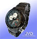 JVD J1020 All Steel Black Calendarium 10 Atm